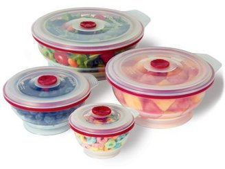 Sur La Table Centurion Global Collapsible Silicone Food Storage Container
