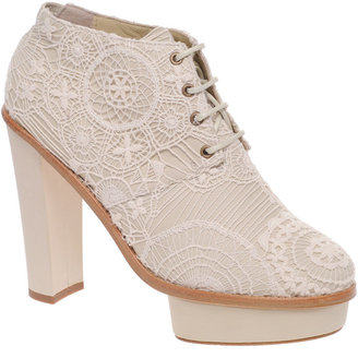 Opening Ceremony Chantal 5 Platform Lace Detail Shoe Boots