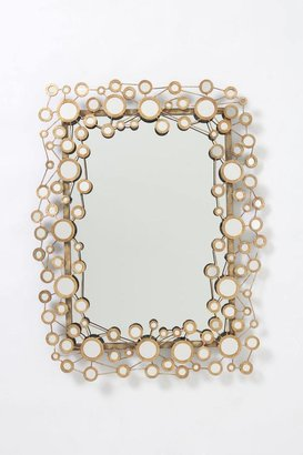 Anthropologie Circle Jig Mirror
