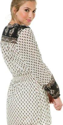 Billabong Pretty Amazing Long Sleeve Maxi Dress