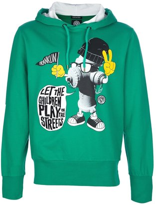 Franklin & Marshall animated print hoodie