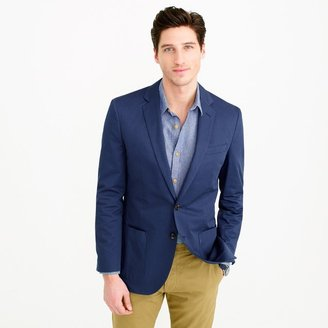 Ludlow blazer in Italian cotton $228 thestylecure.com