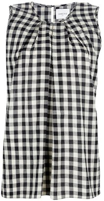 Laurence Dolige sleeveless checked shirt