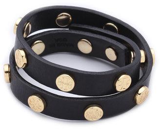 Tory Burch Double Wrap Logo Bracelet