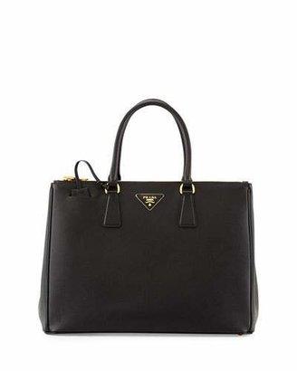 Prada Saffiano Medium Executive Tote Bag, Black (Nero) $2,500 thestylecure.com