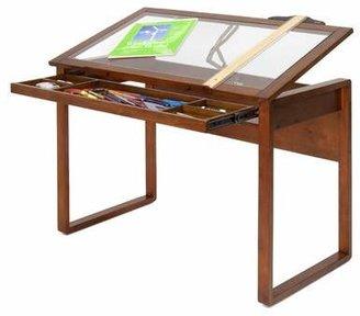 Studio Designs Ponderosa Adjustable Drafting Table Top Material: Glass