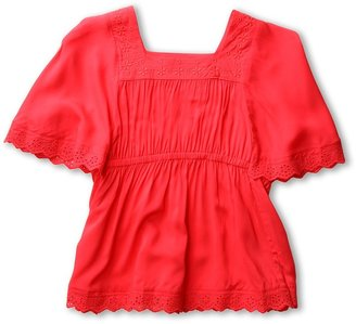 Seafolly Fairytale Smock (Infant/Toddler/Little Kids) (Cherry) - Apparel