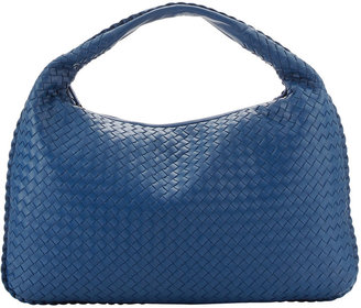 Bottega Veneta Veneta Large Hobo Bag, Blue