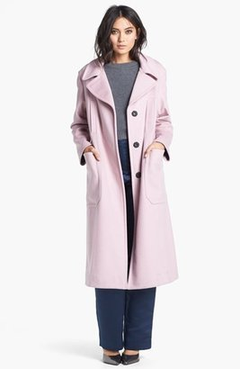 Topshop Unique Long Wool Blend Coat