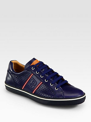 Bally Olbia Perforated Leather Sneaker