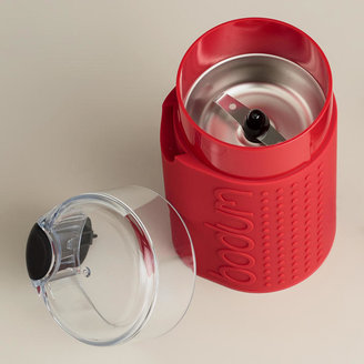 Bodum Red Bistro Electric Blade Coffee Grinder