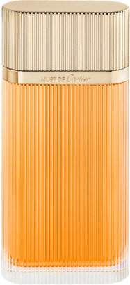 Cartier Must Eau de Toilette, 3.3 oz.