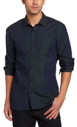 7 For All Mankind Men's Colored Weft Shirt