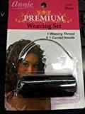 Annie Premium Weaving Set (Black) $3.78 thestylecure.com