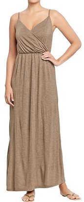 Old Navy Women's Cross-Front Jersey Maxi Dresses