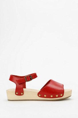Kimchi & Blue Kimchi Blue Wooden Flatform Sandal