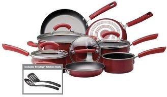 Farberware 13-Piece Cookware Set in Red