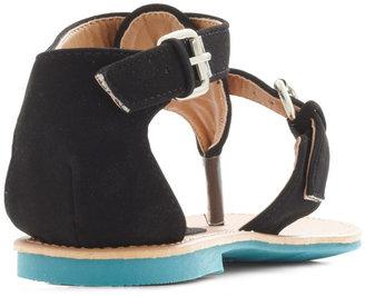 Travel Blogger Sandal in Black