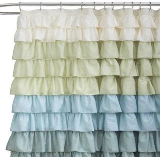 "Bed Bath & Beyond Ruffle Multi 72"" x 72"" Shower Curtain"