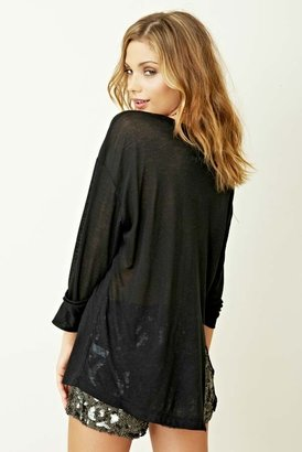 Blue Life Long Sleeve Best Bum With Pocket in Black