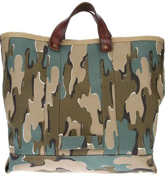 Golden Goose Deluxe Brand camouflage tote