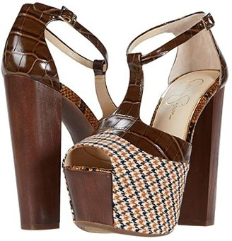 Jessica Simpson Dany (Mustardo/Brown) High Heels