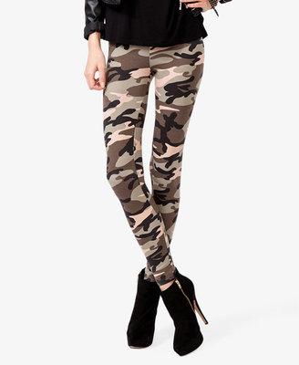 Forever 21 Camouflage Leggings