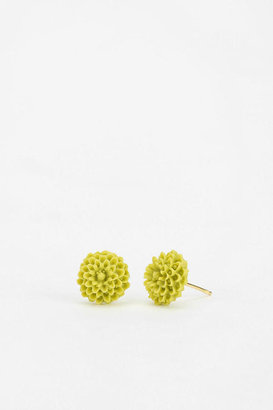 Urban Outfitters Diament Jewelry For Urban Renewal Flower Stud Earring