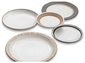 Crate & Barrel Studio Dark Clay Dinner Plate