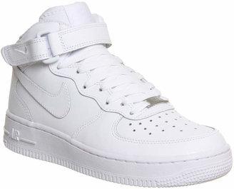 Nike Force 1 Mid White