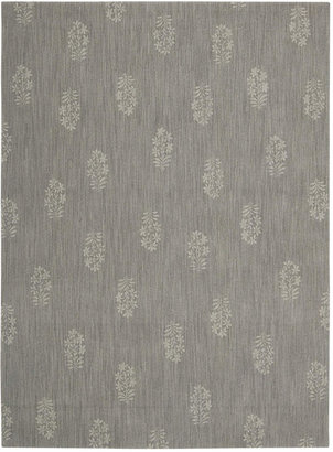 "Calvin Klein Home Area Rug, CK11 Loom Select Neutrals LS13 Pondicherry Granite 5'6"" x 7'5"""