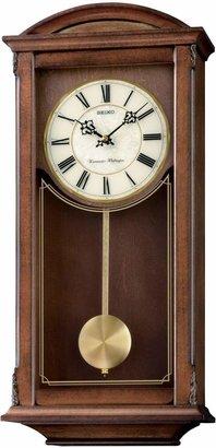 Seiko Alder Dual Chime Pendulum Wall Clock.