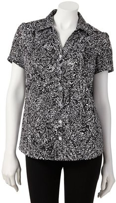 212 Collection Paisley Shirt