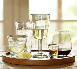 Pottery Barn Santino Recycled Glassware, Set of 6