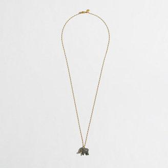 J.Crew Factory Factory enamel critter charm necklace