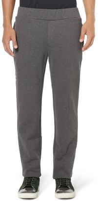 Bottega Veneta Fleece-Backed Cotton and Wool-Blend Sweat Pants