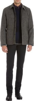 Rag and Bone Rag & Bone Removable Shearling Lining Check Jacket