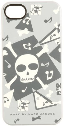 Marc by Marc Jacobs Bones Case for iPhone 5 (Gunmetal Multi) - Electronics