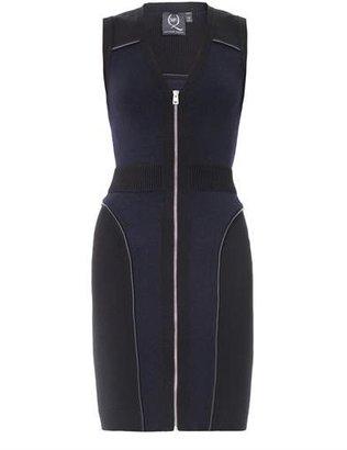 McQ by Alexander McQueen Zip front knit dress