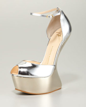 Giuseppe Zanotti Patent No-Heel Platform d'Orsay