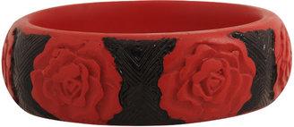 Forever 21 Carved Rose Bracelet