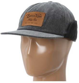 Brixton Flint Cap (Black) - Hats