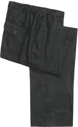 Martin Gordon Linen Drawstring Pants (For Men)