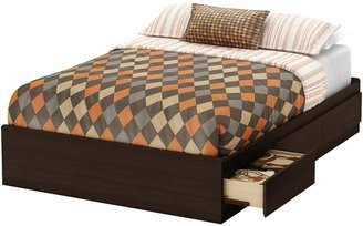 Green Baby South Shore Clever Collection Full (54'') Mates Bed - Mocha