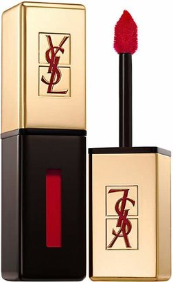 Yves Saint Laurent Beauty Women's Rouge Pur Couture Vernis à Lèvres Glossy Stain - 9 Rouge Laque