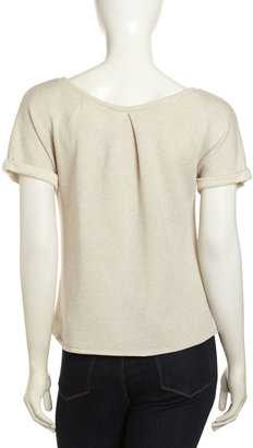 Paper Denim & Cloth York Slouchy Sweatshirt, Oatmeal