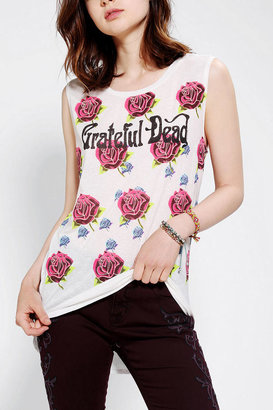 Urban Outfitters DOE Grateful Dead High/Low Muscle Tee