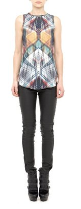Nicole Miller Brentwood Leather Pant