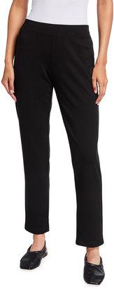 Eileen Fisher Flex Ponte Slim Pants