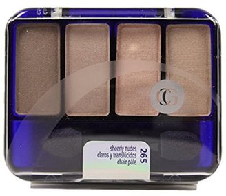 COVERGIRL Eye Enhancers 4-Kit Eye Shadow, Sheerly Nudes .19 oz (5.5 g) $8.24 thestylecure.com